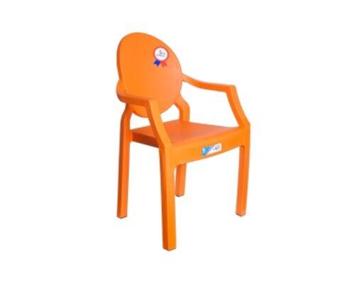 Кресло детское пластиковое Afacan оранжевое - Фото №1