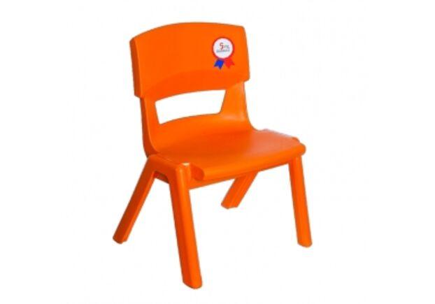 Стул детский Jumbo №1 оранжевый  - Фото №1