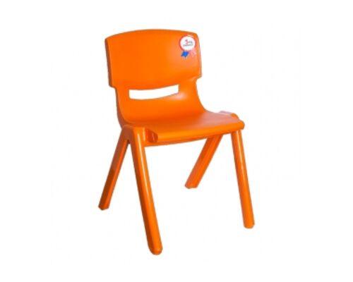 Стул детский Jumbo №2 оранжевый - Фото №1