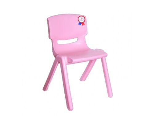 Стул детский Jumbo №2 розовый - Фото №1