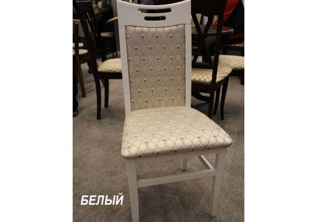 Стул обеденный Юля белый/каппакодия 2602 - Фото №2
