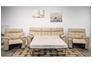 Диван Монако 2709 В-8817-65 латте с натуральной кожи - Фото №4