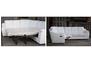 Диван угловой Бостон 3095 A 032-77 белый с натуральной кожи и перфорацией - Фото №4
