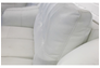 Диван угловой Бостон 3095 A 032-77 белый с натуральной кожи и перфорацией - Фото №2
