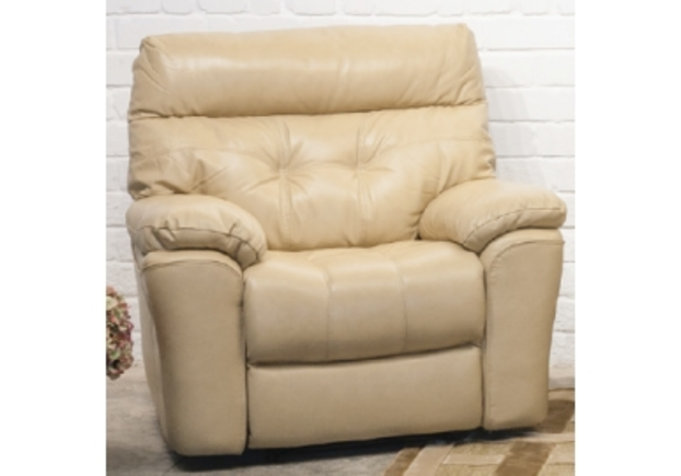 Кресло Монако 2709 B 8817-65 латте из натуральной кожи - Фото №1