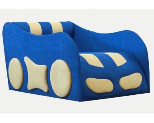 Детский диван Машинка ткань Acri (Магитекс) 3 категория - Фото №1
