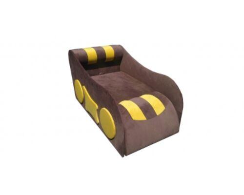 Детский диван Машинка ткань Лира  (Мебтекс) 1 категория - Фото №1