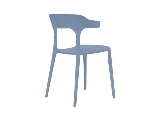 Стул пластиковый LUCKY (Лакки) голубой - Фото №2