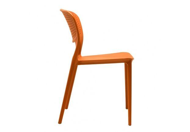 Стул пластиковый SPARK (Спарк) оранжевый - Фото №2