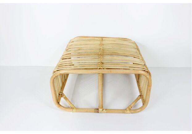 Фото 1 Кофейный столик Амелия из натурального ротанга