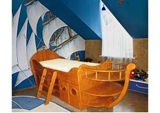Кровать-корабль Ирель Кораблик