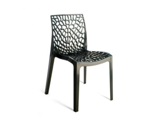 Пластиковый стул GRUVYER ANTRACITE (Грувер Антрацит) - Фото №1