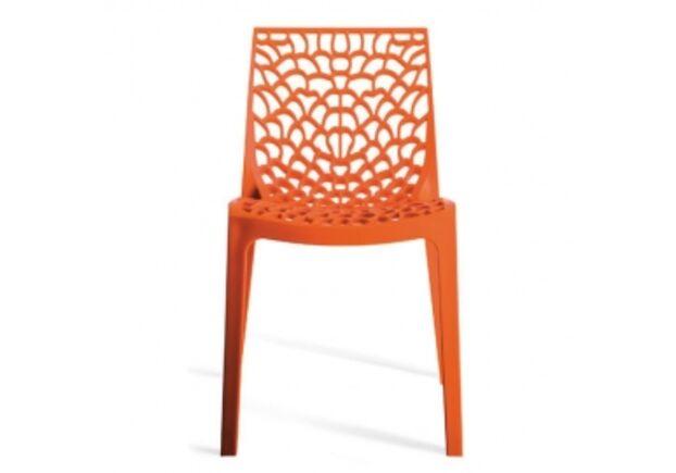 Пластиковый стул GRUVYER ORANGE (Грувер Оранж) - Фото №1