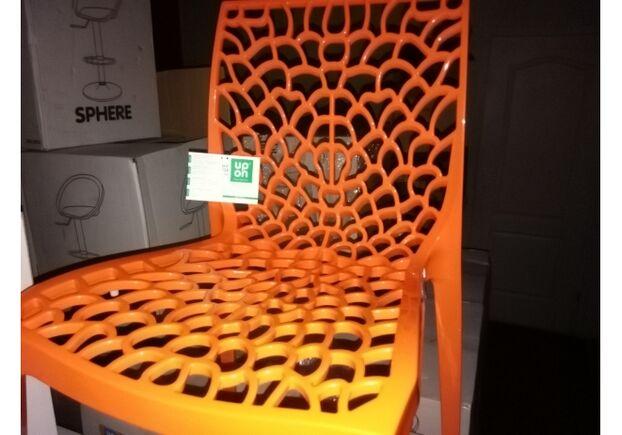 Пластиковый стул GRUVYER ORANGE (Грувер Оранж) - Фото №2