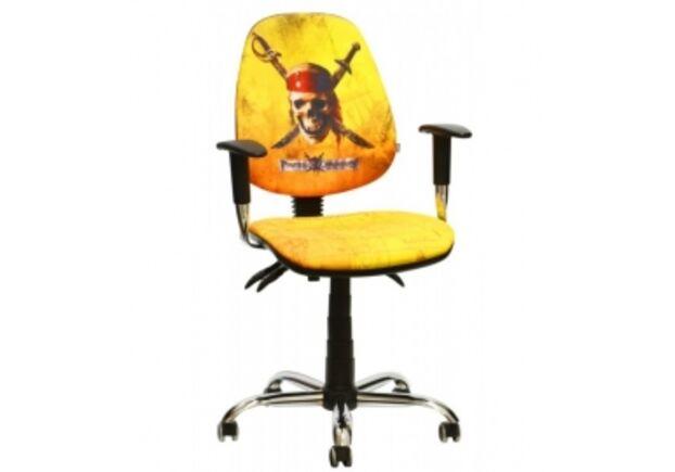 Кресло Бридж Хром Пираты карибского моря Веселый Роджер - Фото №1