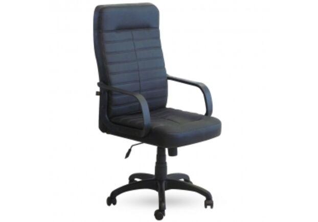 Кресло Ледли Кожа Сплит черная