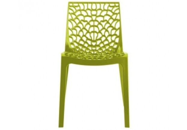 Пластиковый стул GRUVYER verde anice (Грувер зеленый анис) - Фото №1