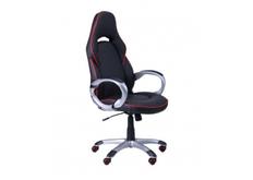 Кресло Страйк (CX 0496H Y10-01) Черный/кант Красный