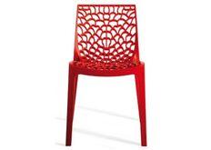 Grand Soleil GRUVYER Пластиковый стул GRUVYER rosso
