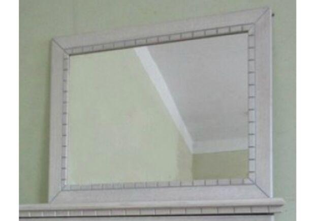 Зеркало белое с cеребристой патиной - Фото №1