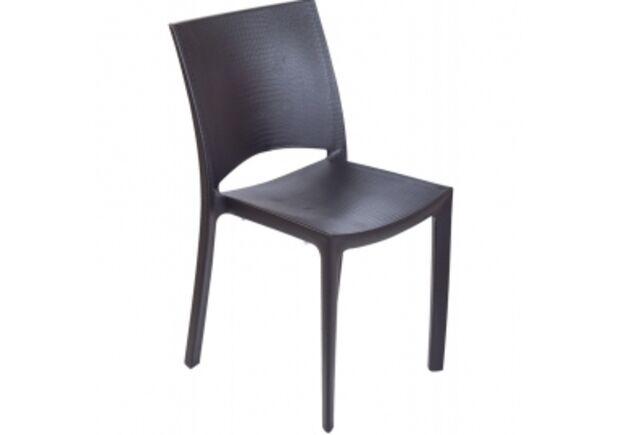 Пластиковый стул COCCO antracite (Кокос антрацит) - Фото №1