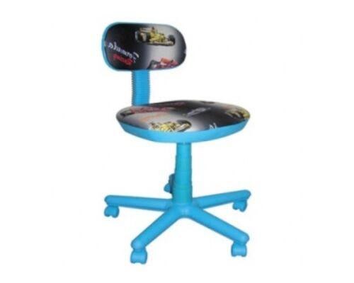 Кресло детское Свити голубой Машинки - Фото №1