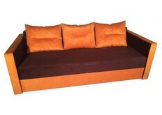 Yudin Диван Андорра эко ткань этро оранж (2 кат)
