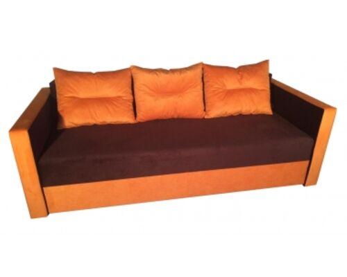 Диван Андорра эко ткань этро оранж (3 кат) - Фото №1