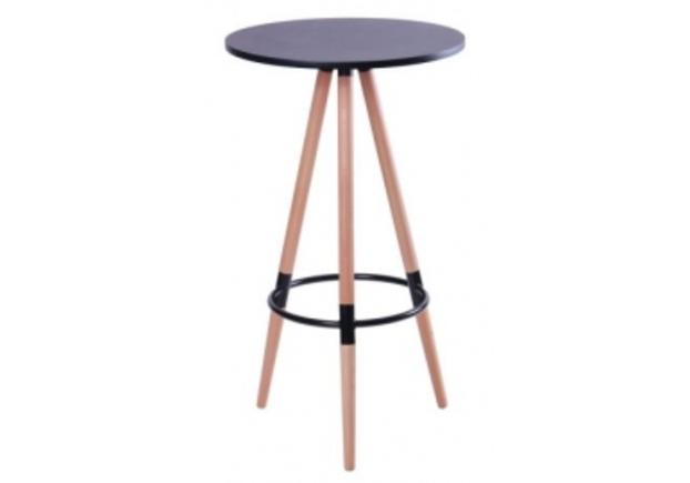Стол высокий круглый Camry d600*h1040 см венге - Фото №1