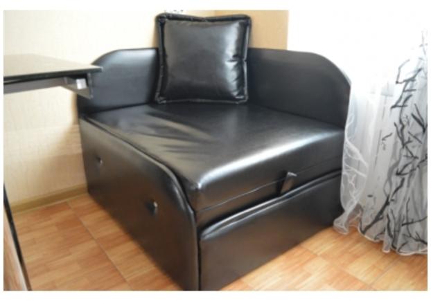 Диван-кресло Артемон Absolute De Luxe Nero (9 кат) - Фото №1