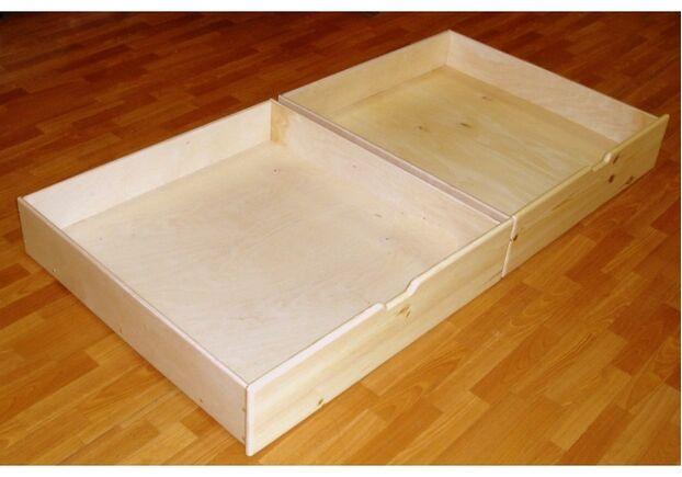Комплект ящиков для кроватей Irelle (фасад массив сосны) - Фото №2