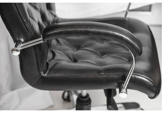 Кресло Бристоль НВ хром (мех-зм ANYFIX, кожа Люкс комбинир.) - Фото №2