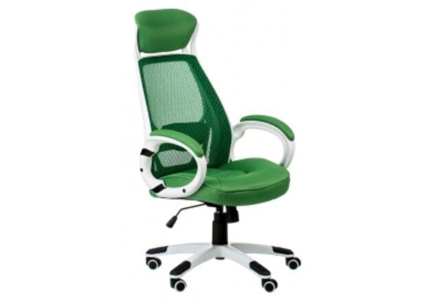 Кресло офисное с подголовником Special4You Briz green  - Фото №1