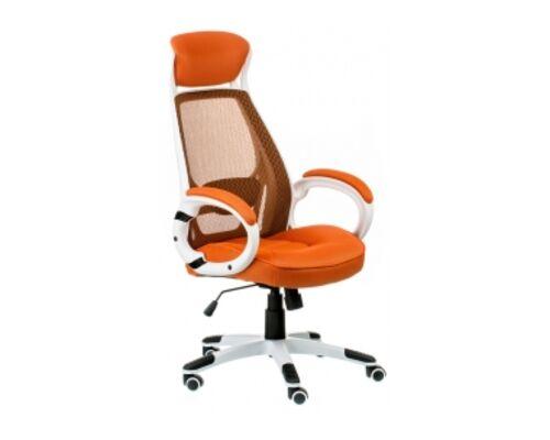 Кресло офисное с подголовником Special4You Briz orange - Фото №1