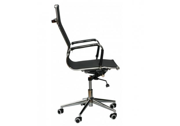 Кресло Special4You Solano textilline black - Фото №2