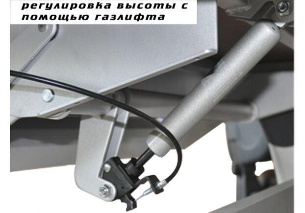 Cтол Mealux Harvard BD-333 MG/B стальные ножки с серыми накладками - Фото №2