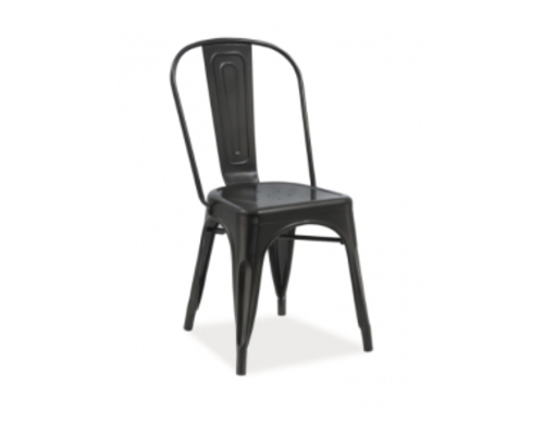 Кресло Loft Signal черное - Фото №1