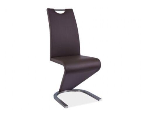 Кресло H-090 Signal сталь/коричневый - Фото №1