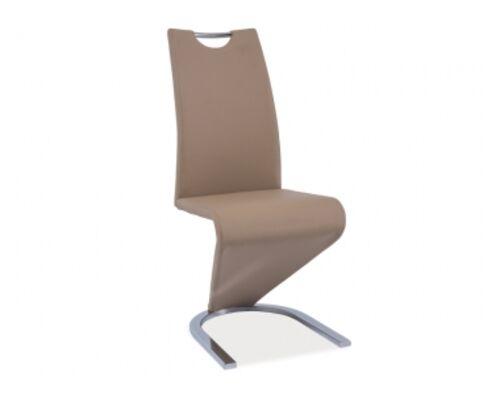 Кресло H-090 Signal хром/темный беж - Фото №1