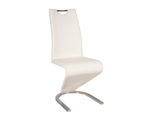 Кресло H-090 Signal хром/белый - Фото №1