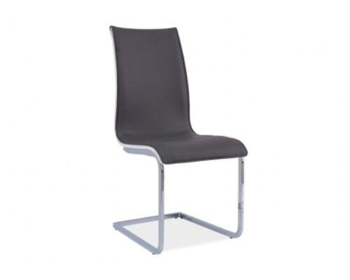 Кресло H-133 Signal хром/серый с белым - Фото №1
