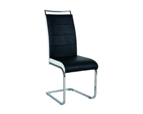 Кресло H-441 Signal хром/ черный  с белым   - Фото №1