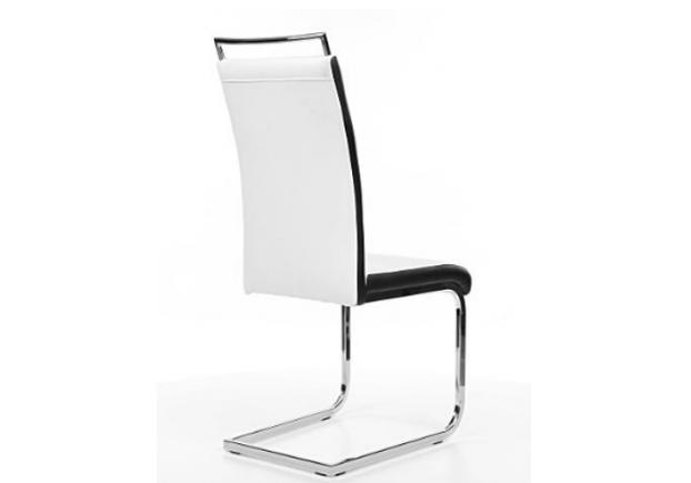 Кресло H-441 Signal хром/ белый с черным   - Фото №2