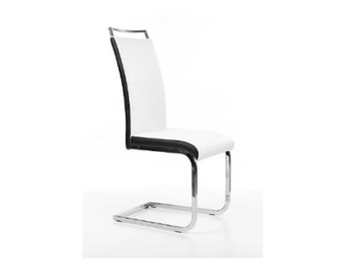 Кресло H-441 Signal хром/ белый с черным   - Фото №1