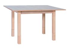 Деревянный раскладной стол Iza Signal 62 (+62)*91*h 60(+18) см дуб сонома