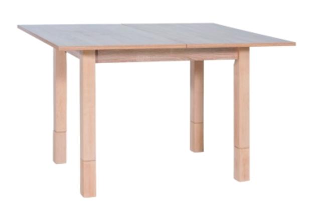 Деревянный раскладной стол Iza Signal 62 (+62)*91*h 60(+18) см дуб сонома  - Фото №1