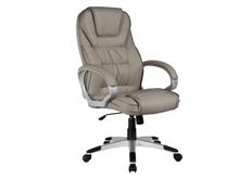 Кресло для руководителя Q-031 Signal хром механизм Tilt экокожа серая