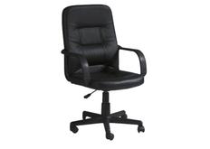 Кресло офисное Q-084 Signal экокожа черная