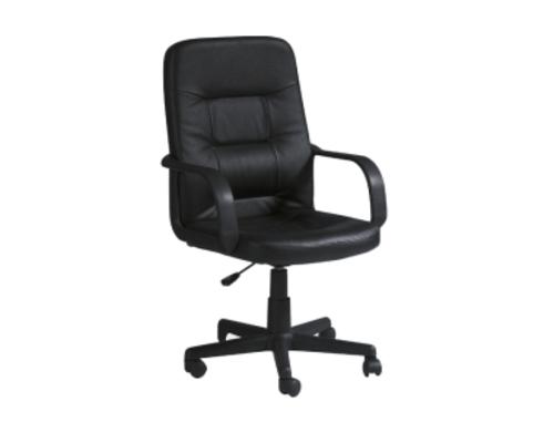 Кресло офисное Q-084 Signal экокожа черная - Фото №1