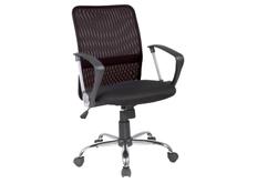 Кресло Q-078 Signal сиденье ткань мембранная черная/спинка сетка черная